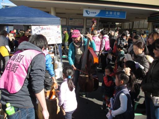 本鵠沼商店街・餅つき大会1