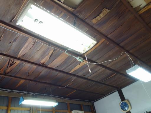 蛍光灯の照明器具