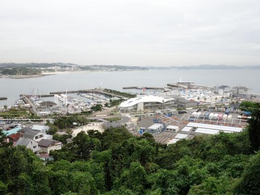 江ノ島ヨットハーバー・セーリング会場